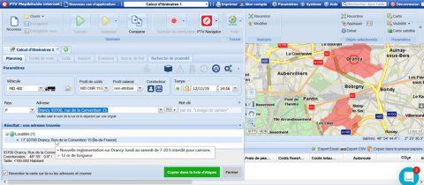 PTV Map&Guide Screenshot