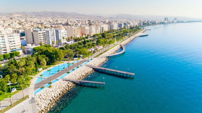 Limassol's seafront will be affected by the Sustainable Urban Mobility Plan