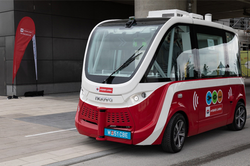 Autonomous Buses deployed in Vienna