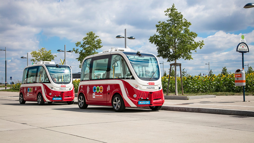 Autonomous Buses (Source: Wiener Linien