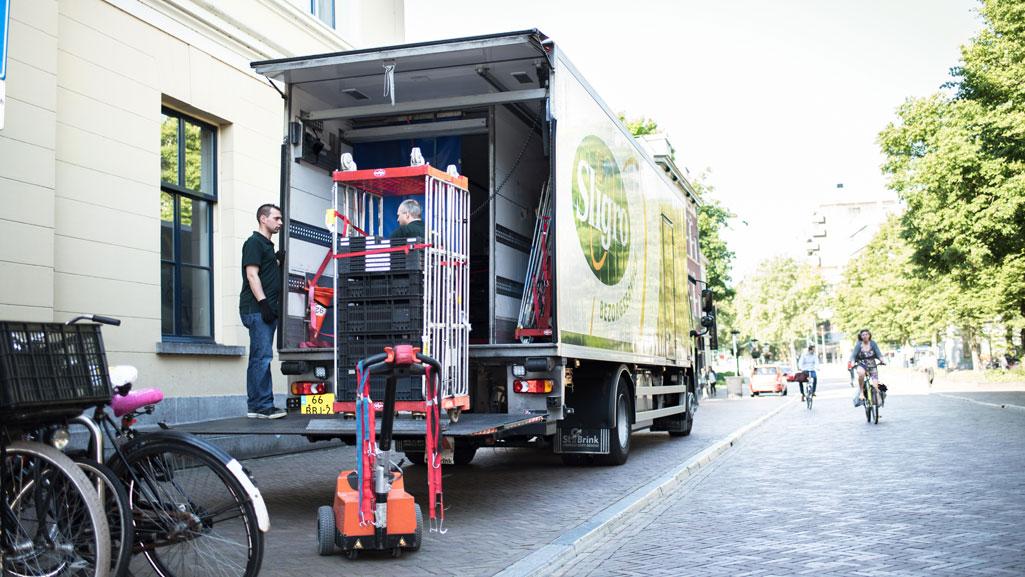 vrachtwagen retourlogistiek rittenplanning