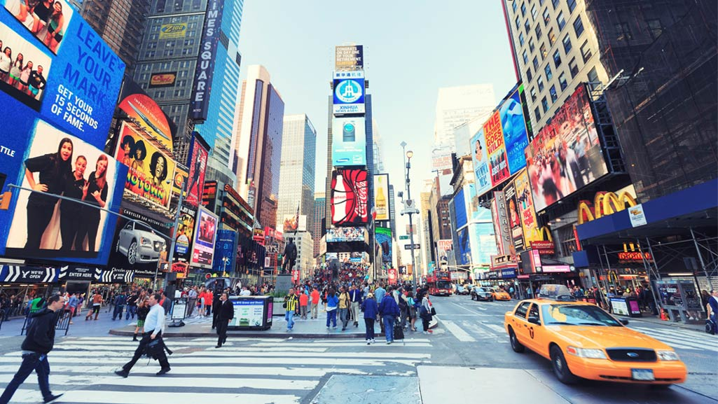 Times Square in New Yorck