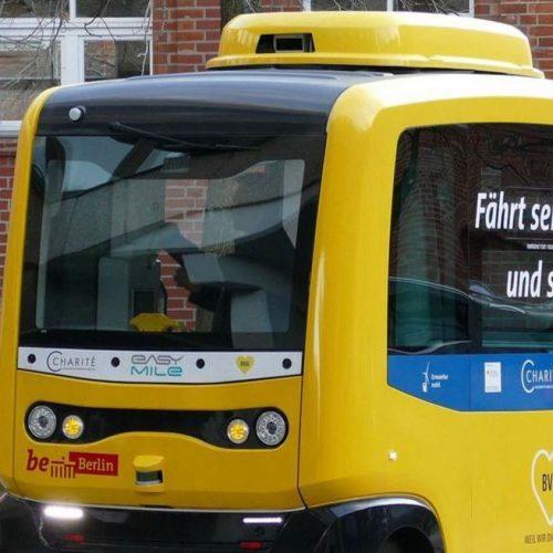 Autonomes Fahrzeug in Berlin