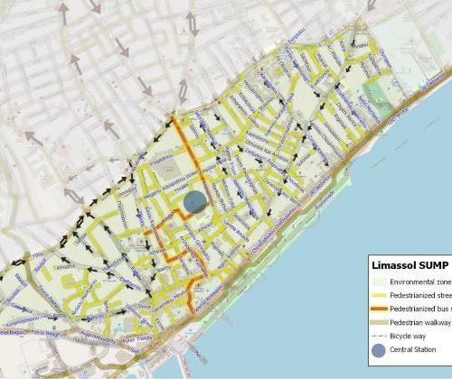 Il PUMS di Limassol incoraggerà l'uso di autobus, ciclismo e passeggiate
