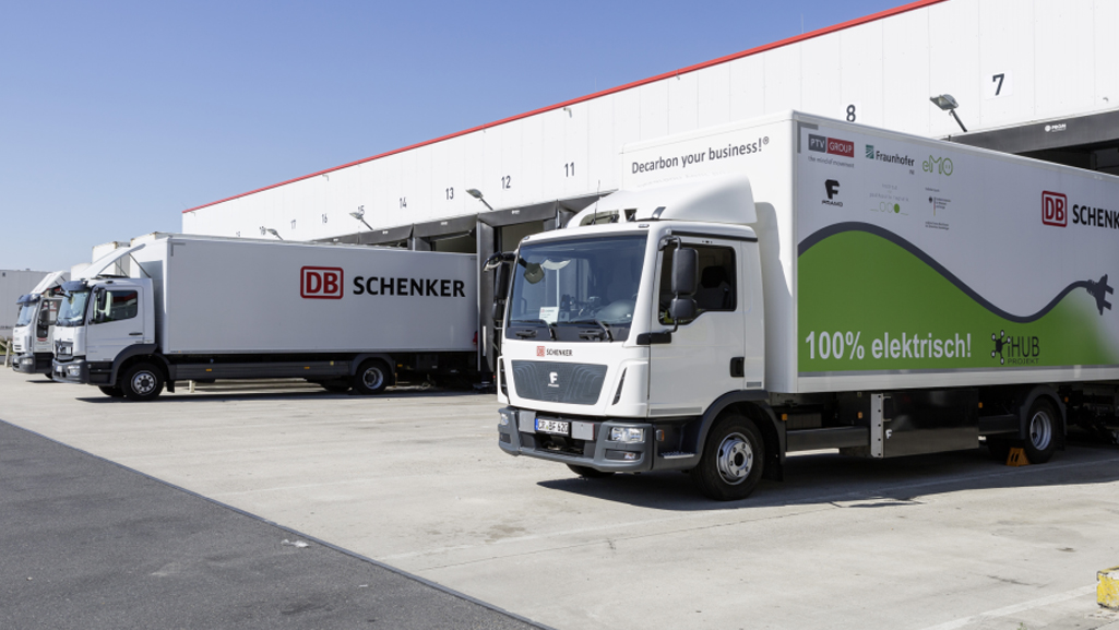 iHub: E-trucks. DB Schenker in Berlin