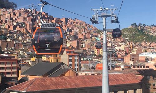 cable car, La Paz