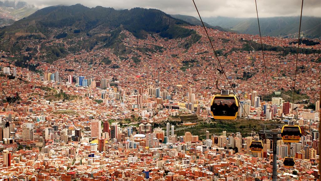 Cable Car La Paz