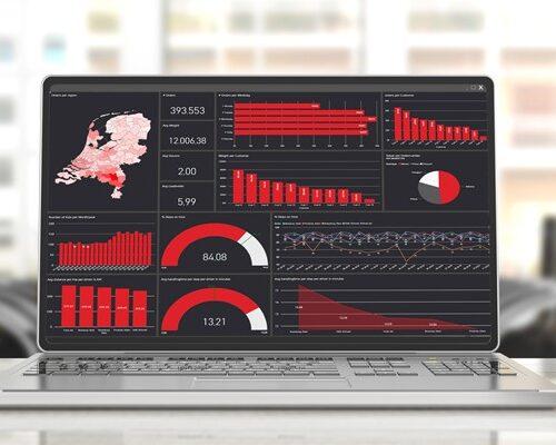 Overzicht van een verzameling data in BI