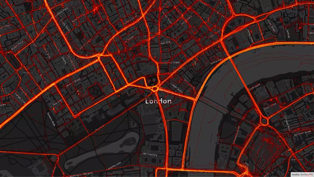 Heatmap London