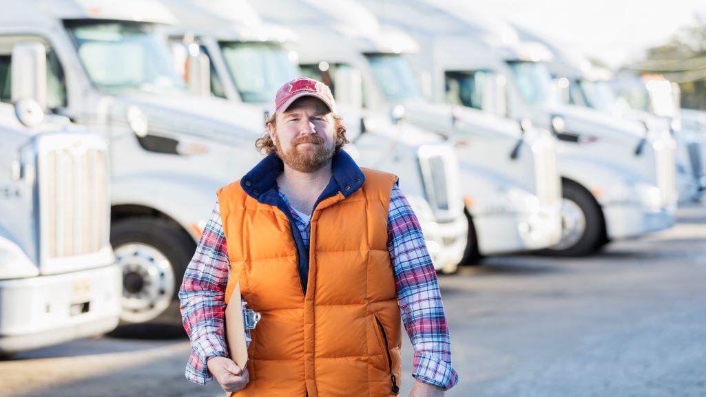 Un autista di camion