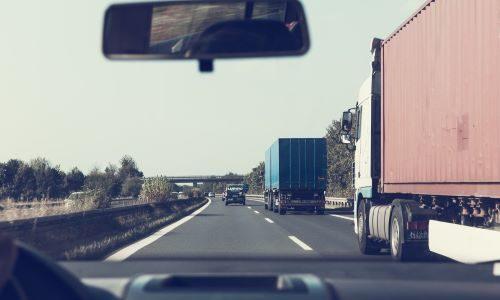 Trucks and e-commerce logistics