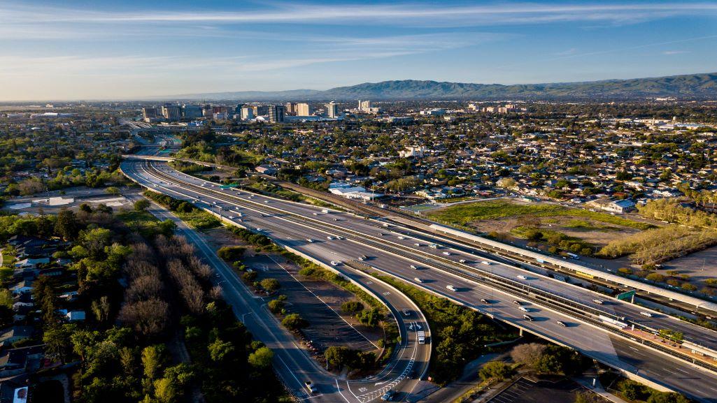 Silicon Valley Californie autoroute