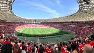 Crowd simulations Rio Beira stadium