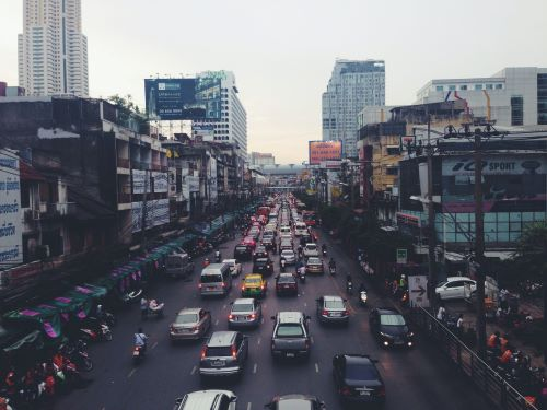 Reducing pollution in cities